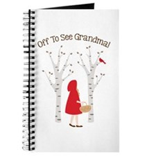 Off To See Grandma! Journal