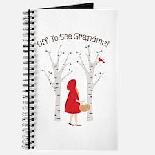 Off To See Grandma! Journal
