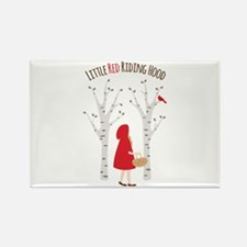 Little Red Riding Hood Magnets