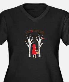 Little Red Riding Hood Plus Size T-Shirt