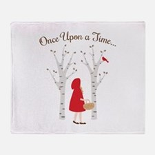 Once Upon A Time... Throw Blanket