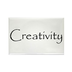 Creativity Rectangle Magnet (10 pack)
