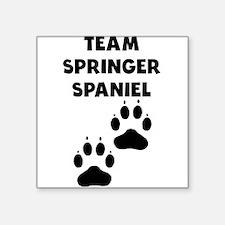 Team Springer Spaniel Sticker