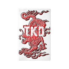 Tkd Dragon 3'x5' Area Rug