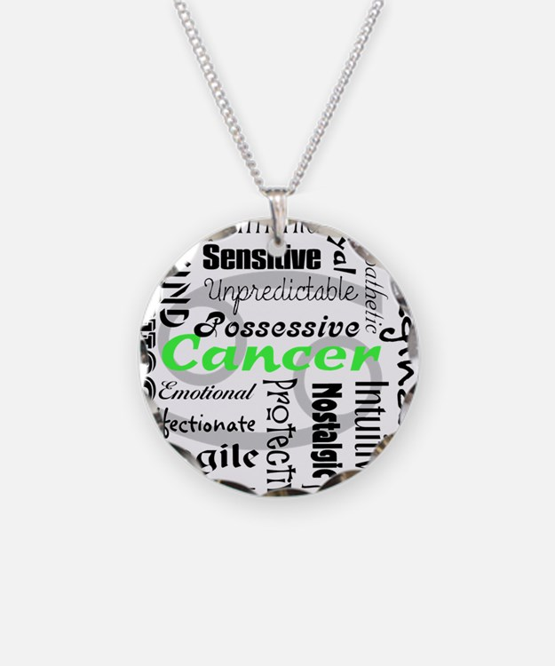 Cancer Collage Necklace