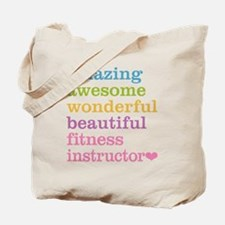 Fitness Instructor Tote Bag