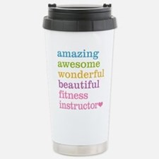 Fitness Instructor Stainless Steel Travel Mug