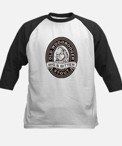Old Woodbooger Big and Bitter Stout Baseball Jerse