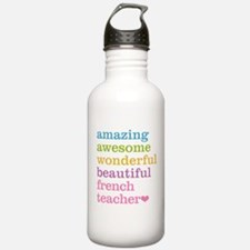 French Teacher Water Bottle