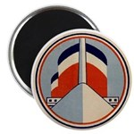 SS United States Funnel Graphic Magnet
