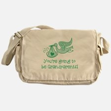 Going to be Grandparents Messenger Bag