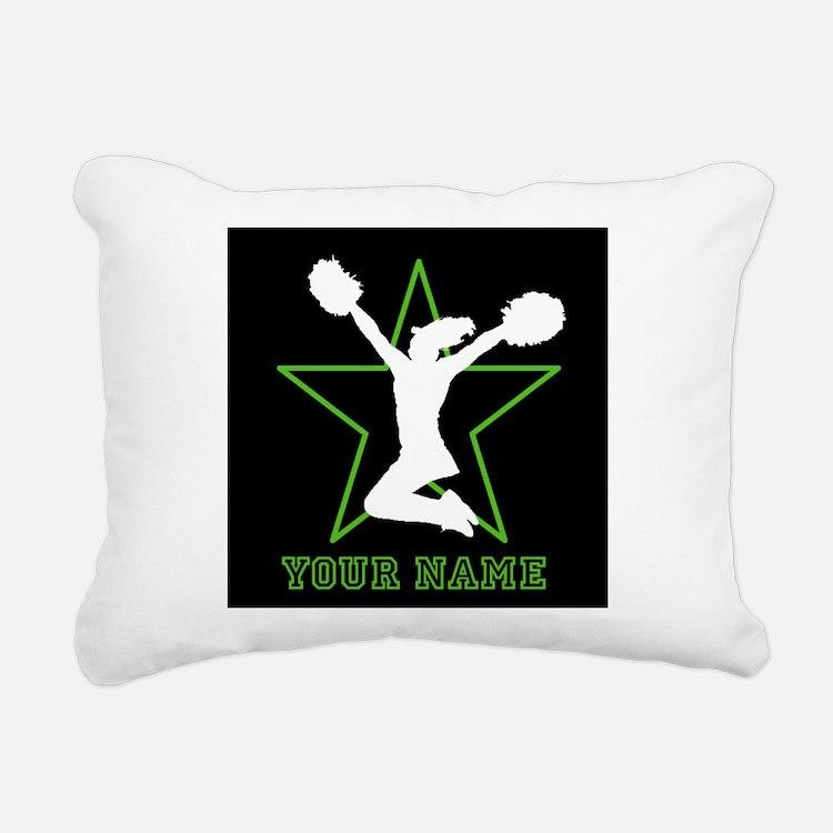 Cheerleader Rectangular Canvas Pillow