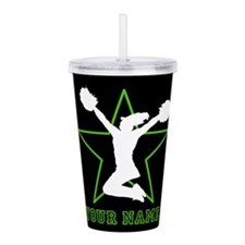 Cheerleader Acrylic Double-wall Tumbler