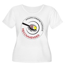 Fry Up Inspector Plus Size T-Shirt