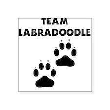 Team Labradoodle Sticker