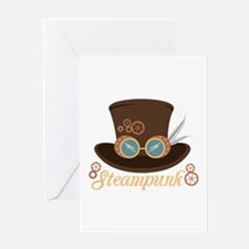 Steampunk Greeting Cards
