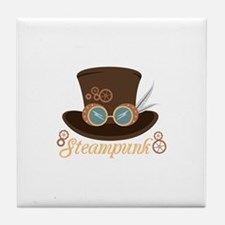 Steampunk Tile Coaster