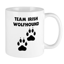 Team Irish Wolfhound Mugs