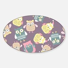 Cute Owls Decal