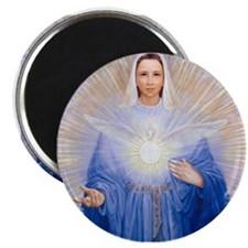 """New Mary of the Holy Spirit 2.25"""" Magnet (10 pack)"""