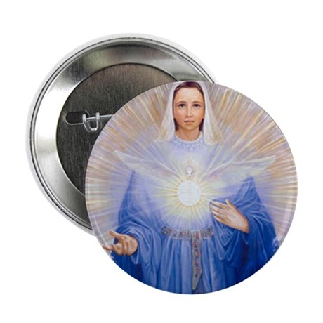 "New Mary of the Holy Spirit 2.25"" Button (100 pack"
