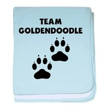 Team Goldendoodle baby blanket