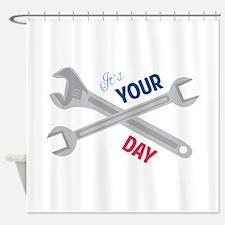 Labor Day Shower Curtain