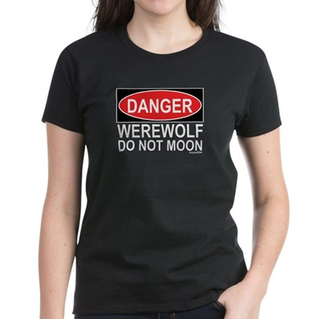 Werewolf Costume Women's Dark T-Shirt