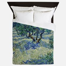 Van Gogh Olive Orchard Queen Duvet