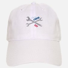 Happy Labor Day Baseball Baseball Baseball Cap