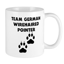 Team German Wirehaired Pointer Mugs
