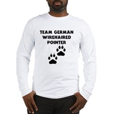 Team German Wirehaired Pointer Long Sleeve T-Shirt