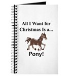 Christmas Pony Journal