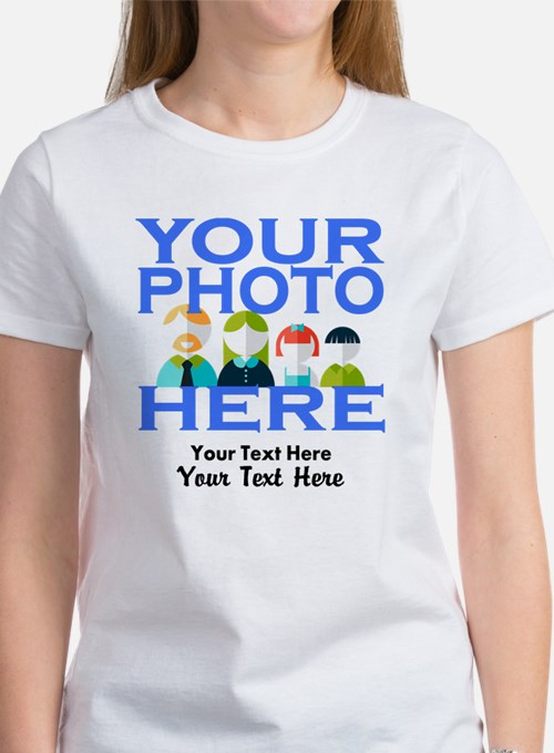 Personalize It Custom Women's T-Shirt