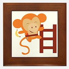 Monkeying Around! Framed Tile