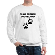 Team English Coonhound Sweatshirt