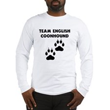 Team English Coonhound Long Sleeve T-Shirt