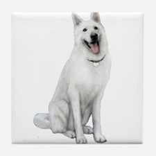 German Sheperd (gp) Tile Coaster