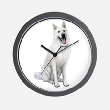 German Sheperd (gp) Wall Clock