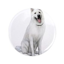 "German Sheperd (gp) 3.5"" Button"