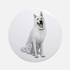 German Sheperd (gp) Ornament (round)
