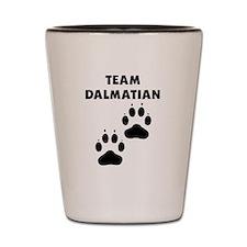 Team Dalmatian Shot Glass