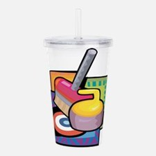 Curling Acrylic Double-wall Tumbler