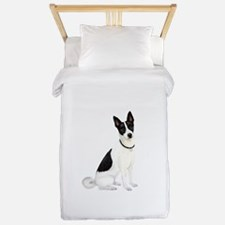 Canaan Dog Twin Duvet