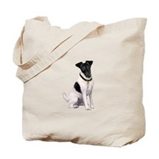 Smooth Fox T - (bw) Tote Bag