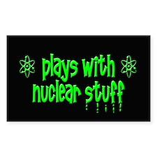 Nuclear Stuff Decal