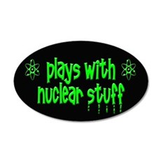 Nuclear Stuff Wall Decal