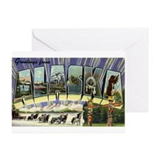 Greetings from Alaska Greeting Cards (Pk of 10