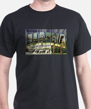 Greetings from Alaska T-Shirt