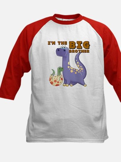 Big Brother Dinosaur Kids Baseball Jersey